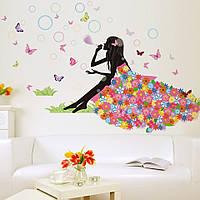 Детские интерьерные виниловые наклейки на стену , детскую комнату, детского сада (0120)