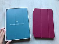 Малиновый кожаный чехол для iPad mini 1/2/3