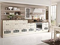 Кухня бело-коричневая Прованс Лаура