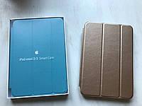 Золотой кожаный чехол для iPad mini 1/2/3