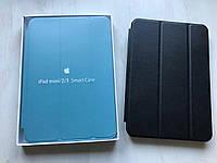 Чёрный кожаный чехол для iPad mini 1/2/3