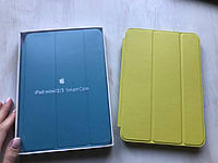 Салатовый кожаный чехол для iPad mini 1/2/3