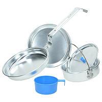 Набор алюминиевой посуды для одного человека MilTec 14641000