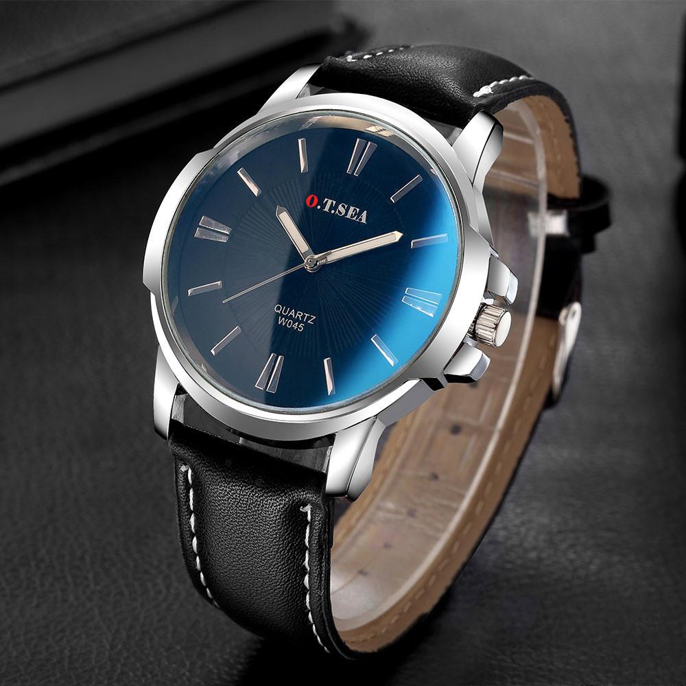 Чоловічі годинники O. T. Sea blue ray black