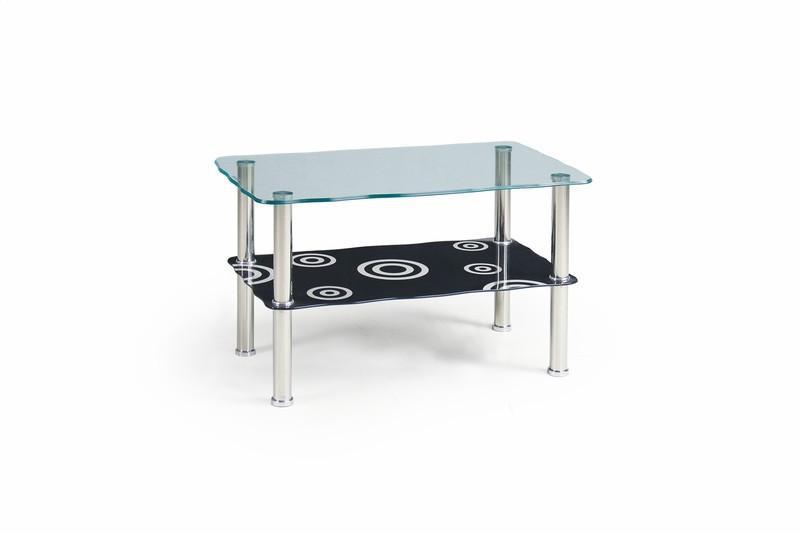 Стеклянный журнальный столик Halia  (Halmar)