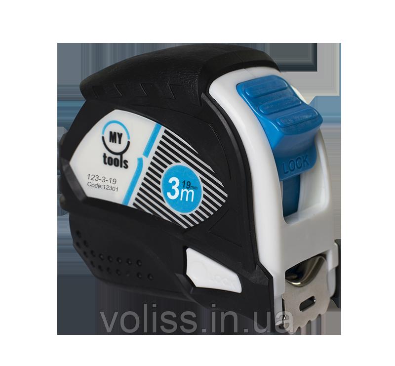 Рулетка измерительная MyTools Pro, 3м Х19мм