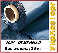 """Пленка черная полиэтиленовая 100 мкм """"Союз"""" (6м*50 мп) 28 кг (Высший сорт)"""