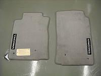 Коврики велюровые серые Toyota Tacoma 2005-2011 короткая 2 двери Новые Оригинальные