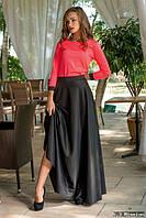 Женский костюм с длинной юбкой н-500071