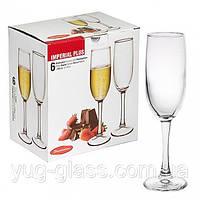 """Набор бокалов для шампанского 155 мл """"Imperial+ 44819"""" 6 шт."""