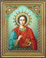 """Набор для вышивания бисером Икона """"Святой целитель Пантелеймон"""""""