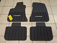 Коврики в салон резиновые черные Dodge Charger 2011-2017 AWD полный привод Новые Оригинальные