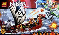 Конструктор LELE Ninja Корабль пиратов 736 деталей 31012