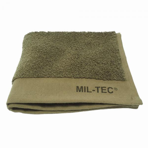 Полотенце махровое 100% хлопок 50х30см MilTec Olive 17816020