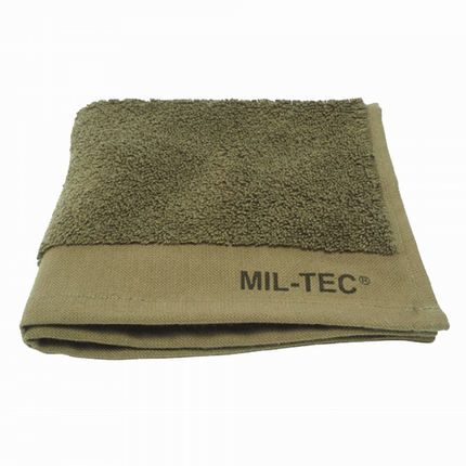 Полотенце махровое 100% хлопок 50х30см MilTec Olive 17816020, фото 2