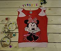 Модная футболка на девочку 3-8 лет