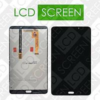 Модуль для планшета Samsung Galaxy Tab A 7.0 T280 T285, черный, дисплей + тачскрин, WWW.LCDSHOP.NET , #1