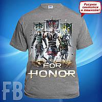 Мужская футболка с логотипом игры For Honor