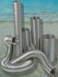 Дымоход гофрированный нержавеющая сталь ф 130мм LEX, фото 2