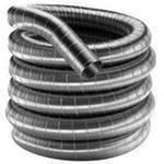 Дымоход гофрированный нержавеющая сталь ф 130мм LEX, фото 5