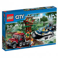 Lego City Полицейское судно на воздушной подушке 60071