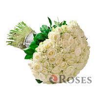 Аваланч 101 белая роза