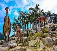 В Таиланде в парке Nong Nooch Pattaya открылась Долина динозавров