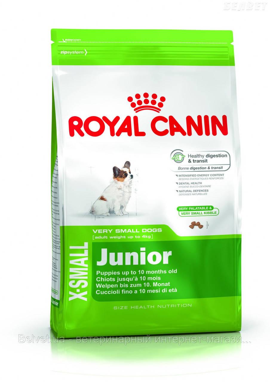 Royal Canin X-SMALL JUNIOR 1,5 кг