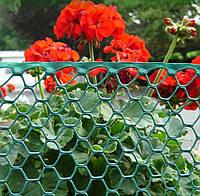 Декоративная садовая решетка Intermas-Nortene BN-90 зеленая 0,9 м* 25 м