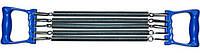 Эспандер плечевой 5-ти полосный (метал. пружина, l-35см, ручки-пластик)