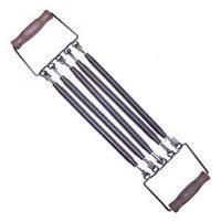 Эспандер плечевой 5-ти полосный  (метал. пружина, l-35см, ручки-деревянные)