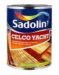 Полуматовоый яхтный лак Sadolin Celco Yacht 20 1л