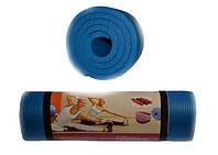 Коврик для йоги и фитнеса. Размер 183 х 61 х 1,5 см