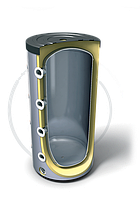 Буферная емкость не эмалированная Tesy V 500 75 F42 P4