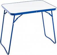 Маленький складной столик СПС-2002-к для активного отдыха, сталь, ДВП, 706х520х624 см, вес 3,72 кг