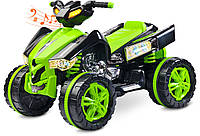 Детский квадроцикл Caretero Raptor Green