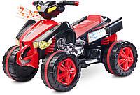Детский квадроцикл Caretero Raptor Red