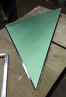 Алюминиевые люки Короб под покраску в гипсокартонный потолок треугольной формы