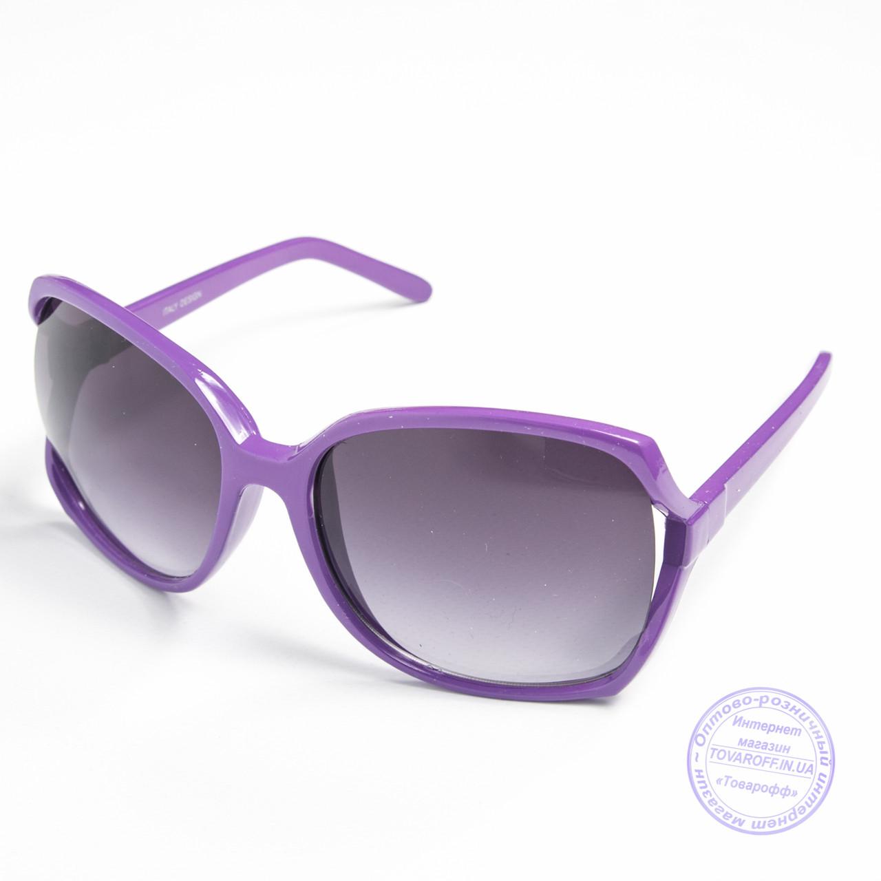 Распродажа женских очков оптом - Фиолетовые - 741