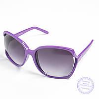Распродажа женских очков оптом - Фиолетовые - 741, фото 1