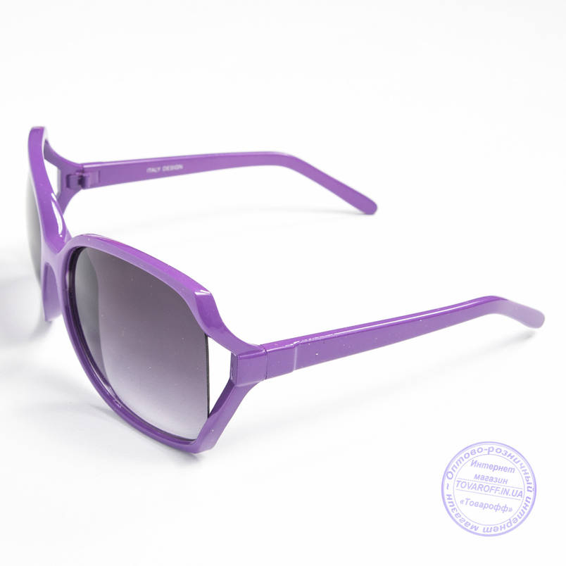 Распродажа женских очков оптом - Фиолетовые - 741, фото 2
