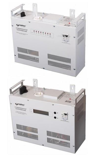 Стабилизатор напряжения симисторный VOLTER СНПТО-2;4;5,5;7;9;11;14;18;22;27 ПТ (повышенной точности)