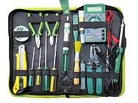 Набор инструментов (WYNN,s W 017B) для электромонтажа