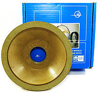 Круг алмазный шлифовальный чашечный конической формы 12А2-45 125х10х3х40х32 АС4 125/100 100% В2-01