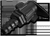 Старт-Коннектор плоский шланг / трубка 16мм