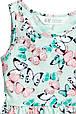 Летнее платье с бабочками на девочку 2-4 года H&M Швеция Размер 98-104, фото 3