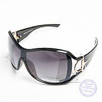 Оптом женские солнцезащитные очки - Черные - 2252