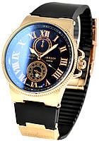 Мужские часы Ulysse Nardin Черный