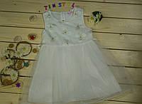 Нарядное платье для девочки 4, 8 лет