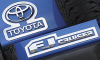 Окантовка логотипа Toyota FJ Cruiser, фото 1